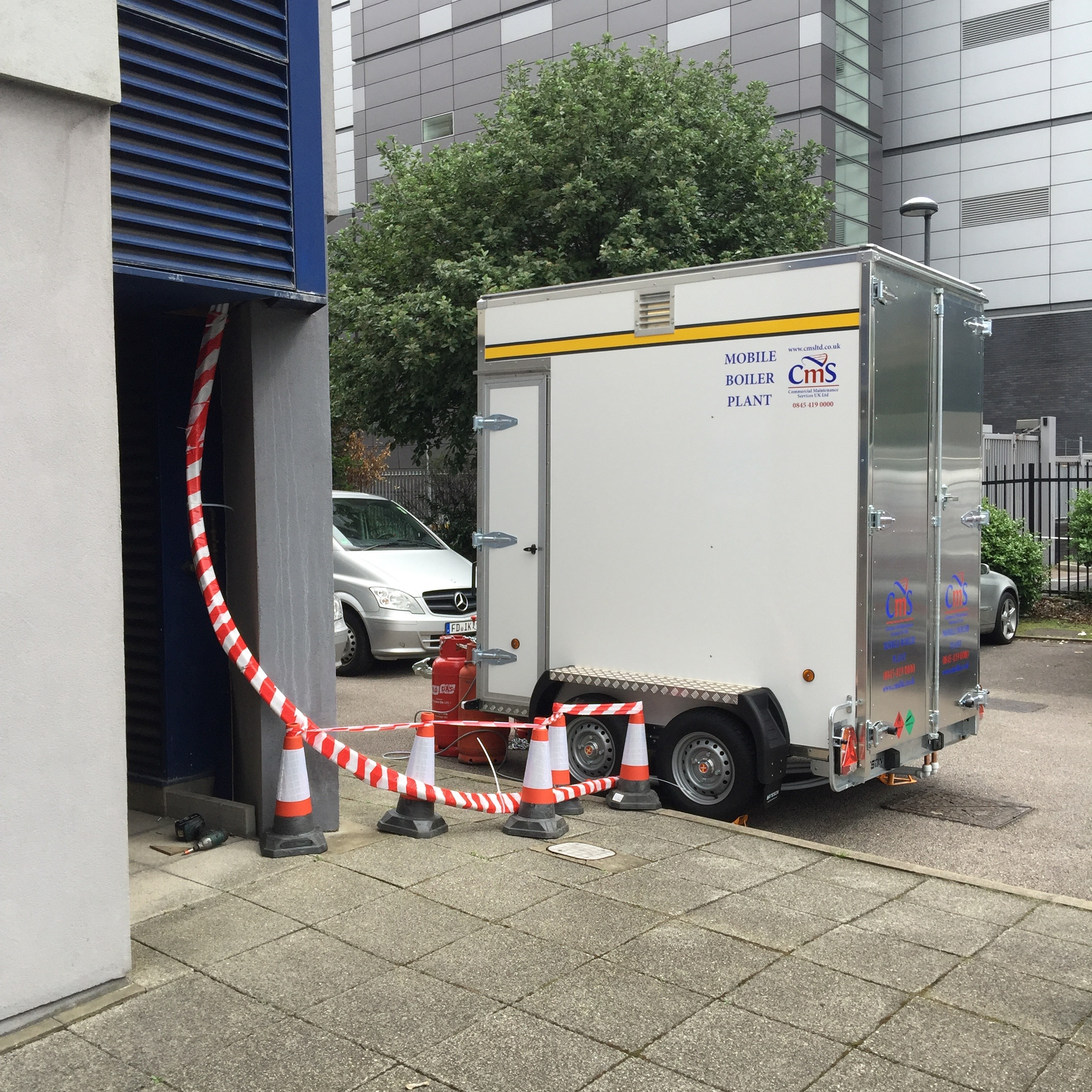 CMS Mobile heating and hot water plant
